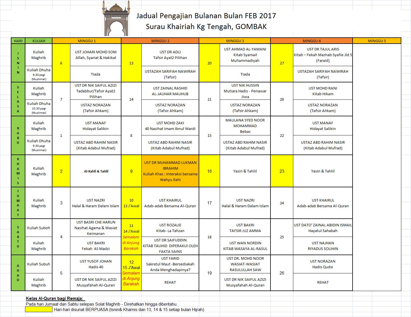jadual-feb-2017