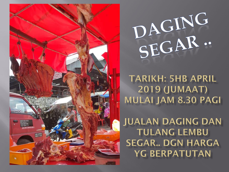 Promosi jual daging